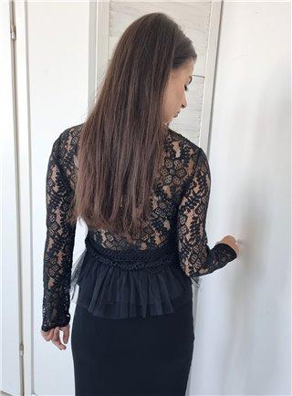 Letní šaty s páskem C 5177