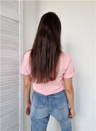 Krásné dlouhé šaty pink 2338