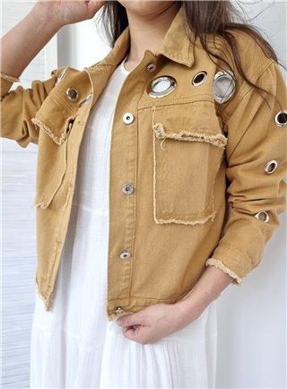 Bunda ISEO jeans giallo 20539