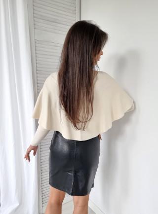 Šaty s guipure VALENTINA bianco 9471