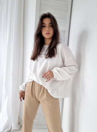 Jeansové laclové kalhoty QUERMES 8079