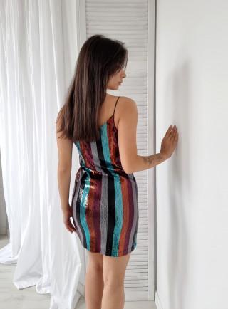 Bavlněné šaty AMPIO black 8246